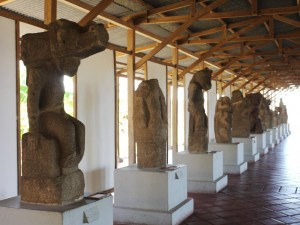 Precolumbian sculptures, Granada