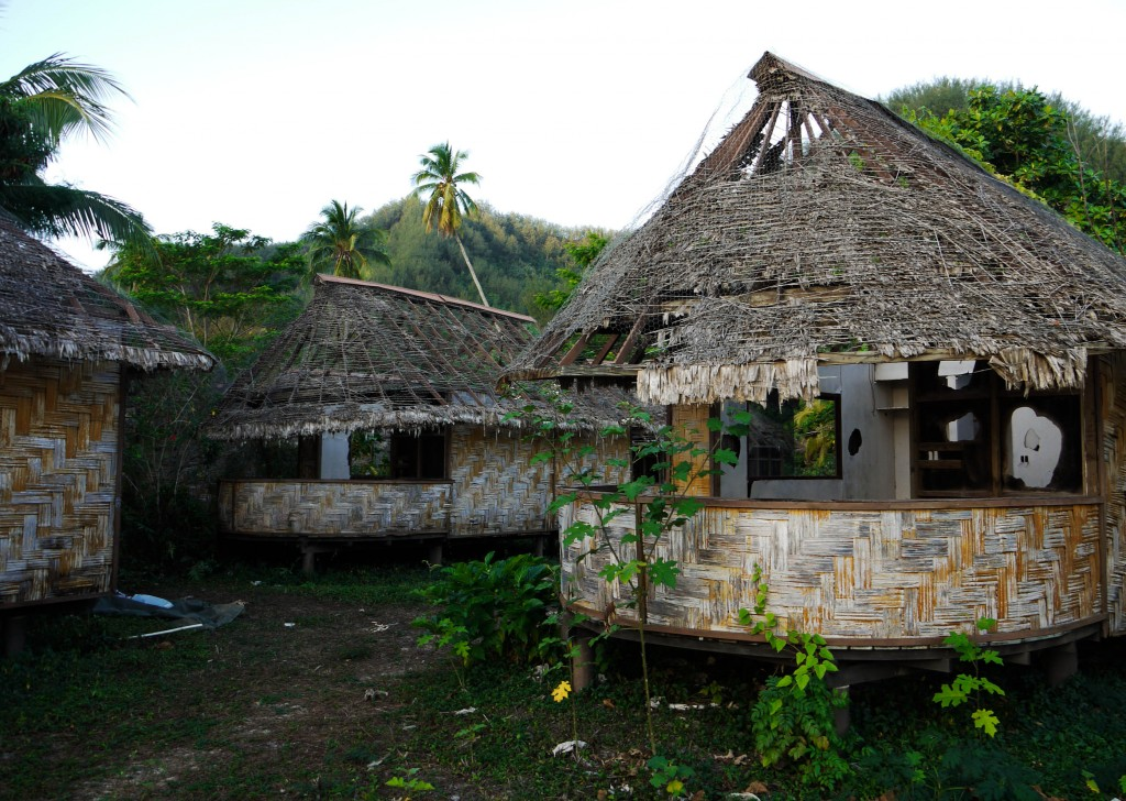 Abandoned Club Med site, Mo'orea